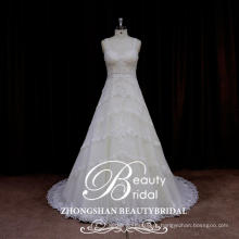 Mais recentes vestidos de casamento, alibaba vestido de noiva casamento feito na China