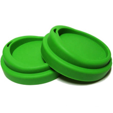 Eco-friendly flexible silicone coffee mug lid