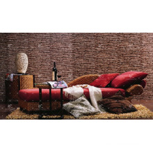WABR-009 Best selling Natural wicker water hyacinth relaxing set for Living home Indoor furniture