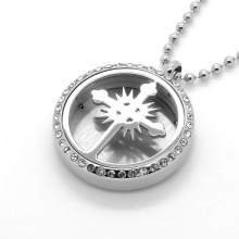 Stainless Steel Jewelry Essential Oil Diffuser Perfume Locket