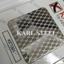 201 Edelstahl Ket001 geätztes Blatt für Dekorationsmaterialien