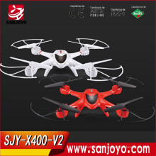 2.4G 6-Axis 3D Roll RC Quadcopter WIFI control rc flying toys Real-time FPV rc flying machine MJX-X400-V2