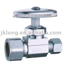 J7011 vanne d'angle en laiton chromé valve de cuivre cw617n
