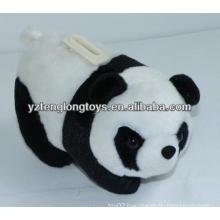 lovely and practical plush panda money pot