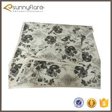 Cobertura de malha de lã de cashmere intarsia de lã barata