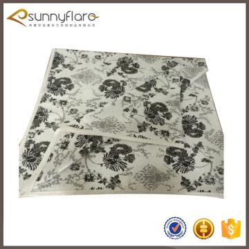 Wholesale pas cher laine cachemire intarsia tricot couverture