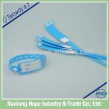 Krankenhaus PVC Material Identifikation Armbänder