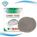 3600 Sacs par 40hq Vente chaude incontournable China Mosquito Coil Repelant et inoffensif Guangzhou Plant Fiber Mosquito Incense Coil