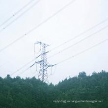 220kV Circuito único ángulo de tensión Torre de transmisión de energía de acero