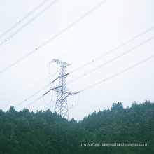 220kV Single Circuit Tension Angle Steel Power Transmission Tower