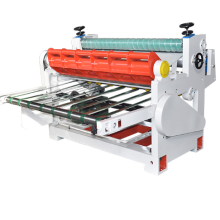 High efficient automatic corrugated paper cutting machine with PLC touch screen