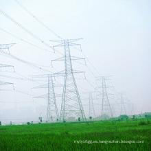 220 Kv Circuito de Doubule Torre de Transmisión de Potencia Tangente