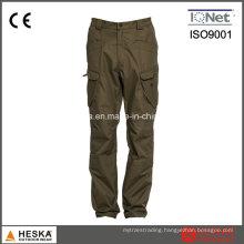 New Products Garment Dye Wash Outdoor Men Khaki Trousers