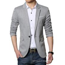 Blazer Casual Blazer Hommes De Haute Qualité Blaser De Mode Blazer
