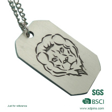 Customized Aluminum Material Engraving Process Military Dog Tag