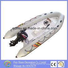 Hot Sale Ce Fiberglas Rib Fischerboot, Mortor Boot