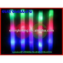 Varinha de espuma de luz LED neon para a festa toda noite vender 2016