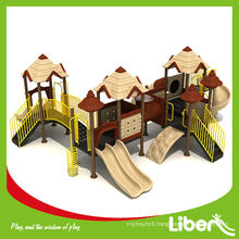 Kids Outdoor Big Castle Playground Equipment with Best Price LE .GB.004