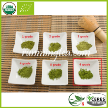 Topo Grau CERES Orgânico - certificado Matcha Chá Verde