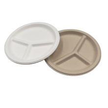 Amazon Hot Sale Disposable Party Plates Eco Sugar Bagasse Plate