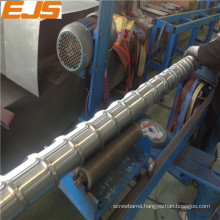 100mm nitriding single extruder screw to match the extruder barrel