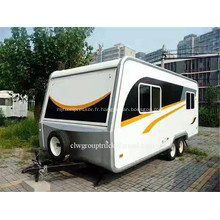 camping car hors route moto basculant tente remorque