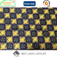 2016 New 100% Polyester Print Lining with High Quality