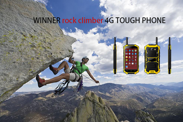 WINNER rock climber 4G TOUGH PHONE