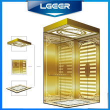 Titanium Cabin Home Passenger Lift/Elevator