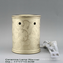 15CE23990 Calentador de fragancia eléctrico plateado de oro