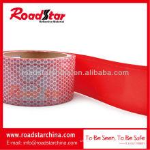 Honey comb shape reflective PVC tape