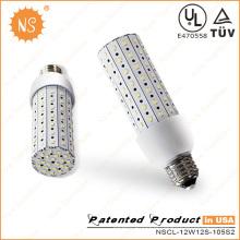 UL Listado E26 1440lm 12W Luz LED Bulbo de milho