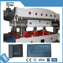 Rubber Mat /Carpet Hydraulic Press and Cutting Machine