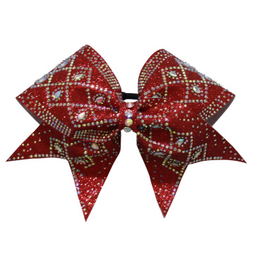 Harga Rendah Prismatic Shape Girls Cheer Busur