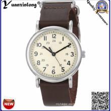 YXL-130 promocional nuevo estilo relojes para hombre cuero hombres relojes casuales deporte reloj de pulsera reloj de cuarzo