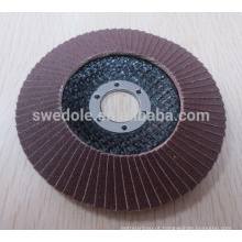 """4 """"-7"""" zircônia revestida de disco de roda de aba para inox, aço inoxidável"""