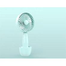 Advertisement low noise electric hand held mini fan with 18650 battery