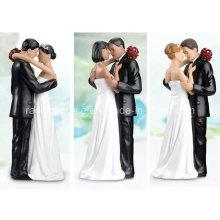 High Quality Lillian Rose Caucasian Tender Moment Figurine for Wedding Cake Decoration