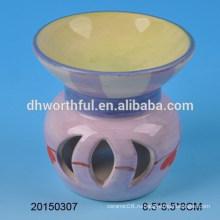 Оптовая домашняя отделка фиолетовая керамическая горелка для благовоний