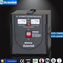 Entrée 130 à 260V Appliquer au congélateur Stabilisateur automatique AVR Régulateur de tension automatique 2000va