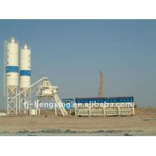 HZS100 cimento modular planta de tratamento de betão