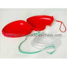 Маска CPR, предназначенная для защиты спасателя