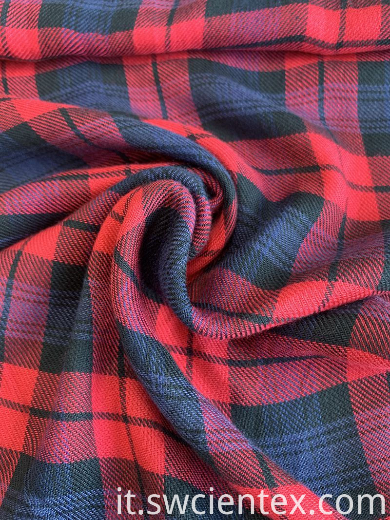 Fleece Rayon Shirt Fabric