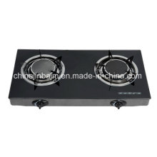 2 Burners Tempered Glass Top 135# Infrared Burner Gas Cooker/Gas Stove