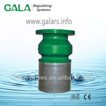 cast iron / ductile iron foot valve