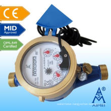MID Certificated Multi Jet Dry Type Remote-Reading Water Meter