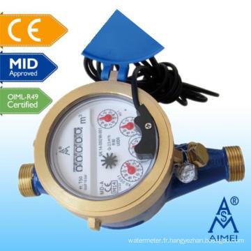 MILIEU homologuée au Multi Jet Dry Type télécommande lecture compteur d'eau