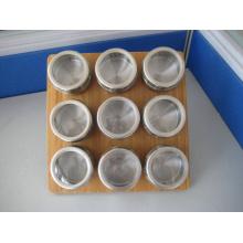 Especiero magnético de acero inoxidable (CL1Z-J0604 - 9D)