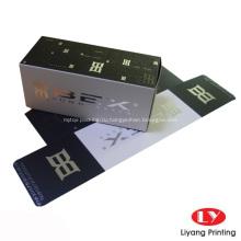 Дешевая изготовленная на заказ косметическая упаковка бумажные коробки