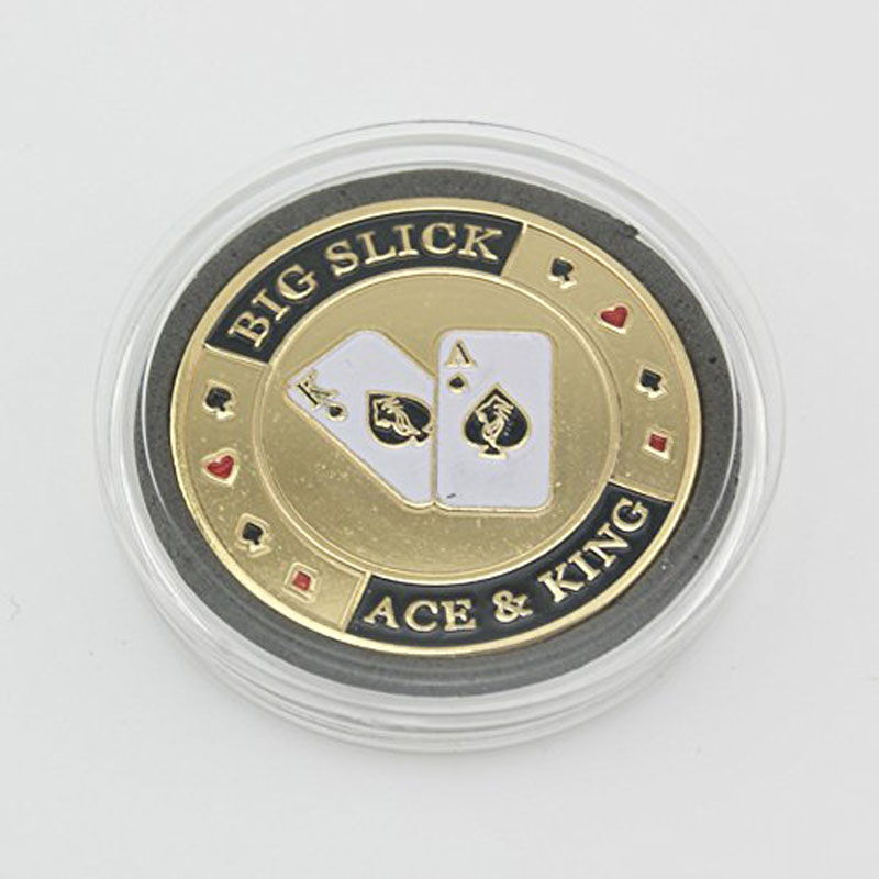 Usa Metal Pressing Poker Cards Coins